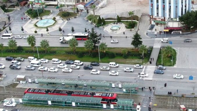 Projet de sécurité routière intelligente à Samsun