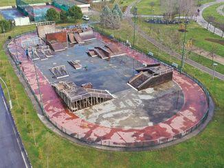 Trwają prace remontowe na torze deskorolkowym Seka Park