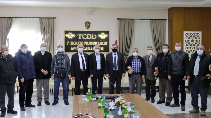 tcdd region met with retired workers and civil servants