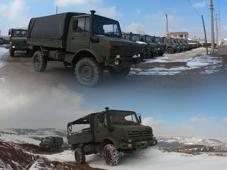 Unimog vehicles removed from the TSK inventory in civilian sales