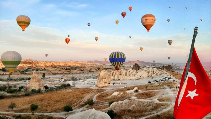 The most romantic place kapadokya turkiyede