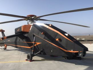 tusasin t electric and unmanned attack helicopter demonstrated for the first time