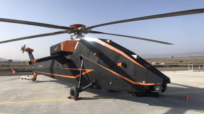 tusasin t elektryczny i bezzałogowy helikopter szturmowy zademonstrowany po raz pierwszy