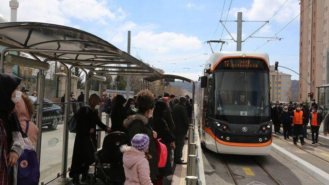 Yil Sultandere OGU Tram Expeditions Started in Eskisehir