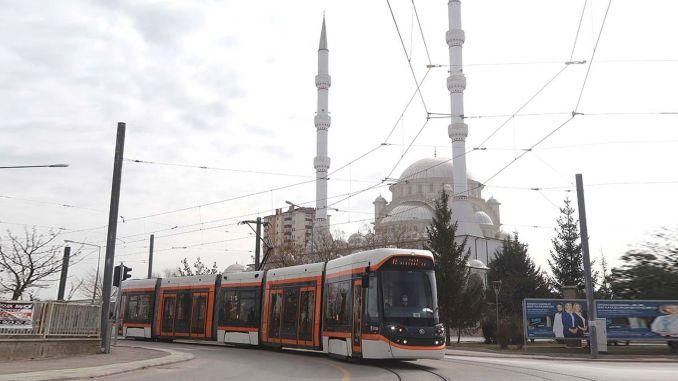 Yil Sultandere OGU Tram Expeditions Start in Eskisehir