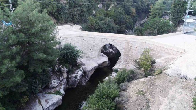 The Historic Batiayaz Bridge is Repaired