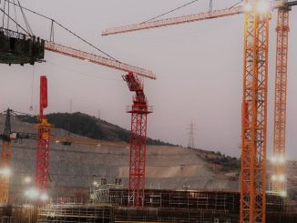 Cantilever beam assembly in the second unit reactor building of akkuyu ngs completed