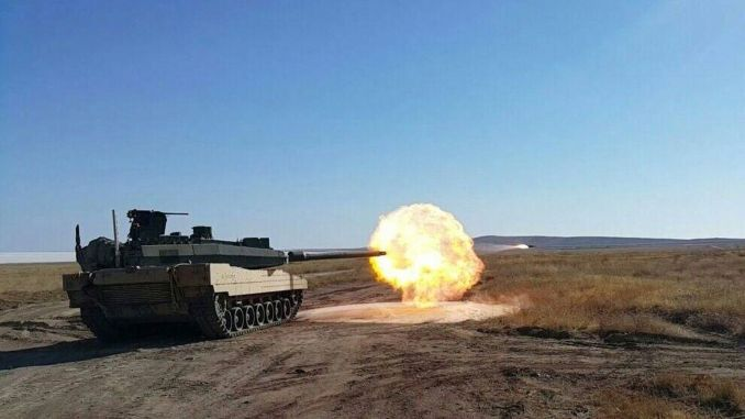 Altay tank engine will be tested in batu april