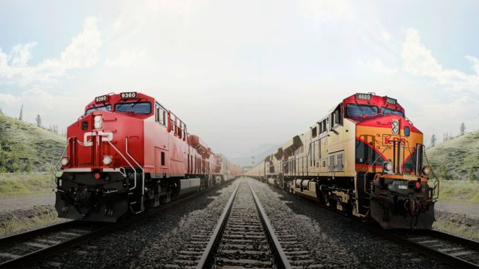 billion dollar rail merger in america