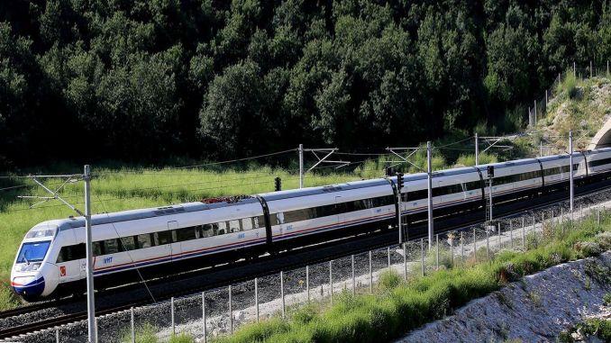 Ankara bursa high speed train line emergency date has been announced