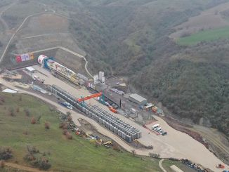 T-tunnel excavation work started in the high-speed train project in Ankara Izmir.