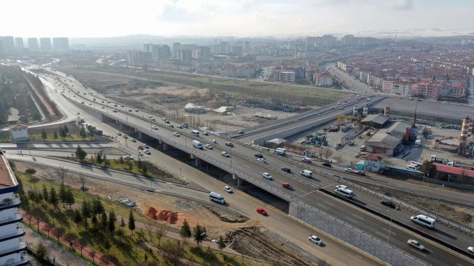 Ayas road and Haskoy bridge intersection were opened to service