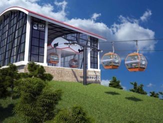 Babadag cable car got patent under the name of fethiye skywalk