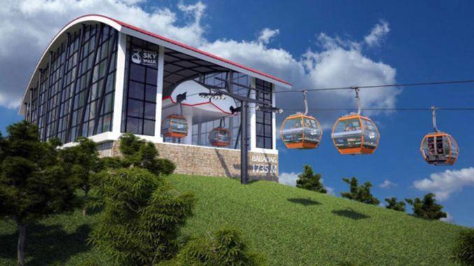 Babadag cable car got patent under the name of fethiye skywalk