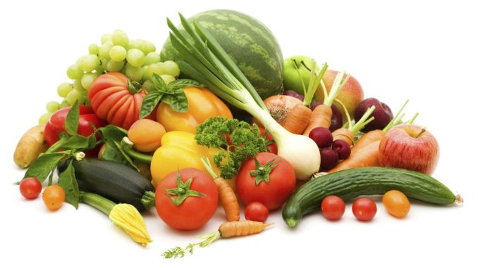 How to consume vegetables and fruits in spring