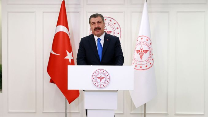 He summed up the ministers husband turkiyenin process Kovid le-year fight