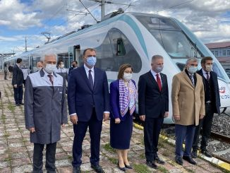 gaziray electric train sets will be in gaziantep at the end of the year