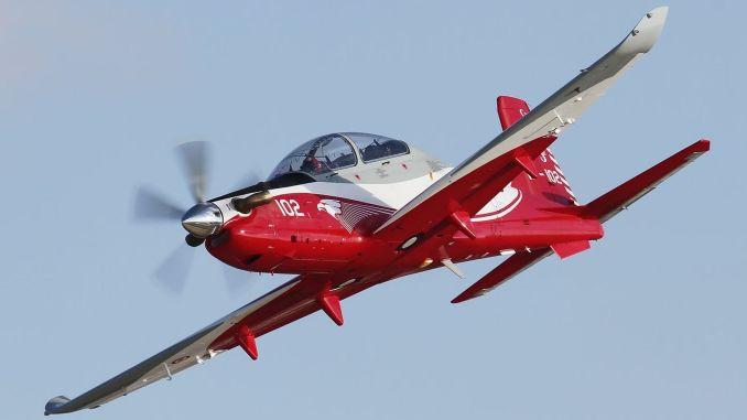 Hurkus basic training is flying hours in the sky