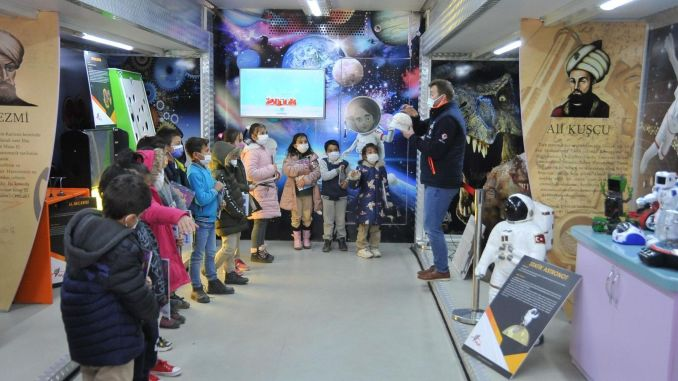 konya science center brought students in Ankara together with science