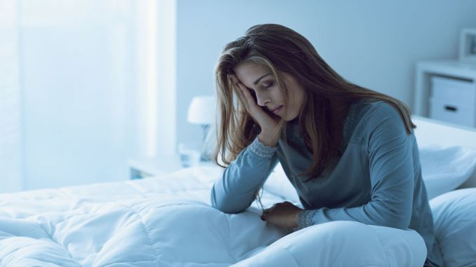 chronic insomnia doubles the risk of depression