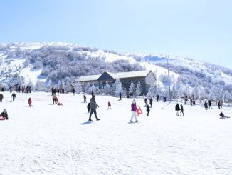 samsun akdag ski center attracts great interest