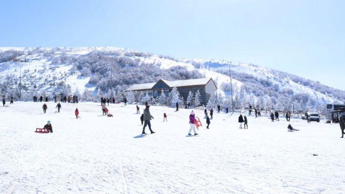 samsun akdag -hiihtokeskus herättää suurta kiinnostusta