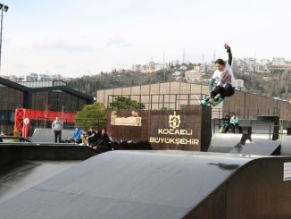 seka park skateboard track has been renewed