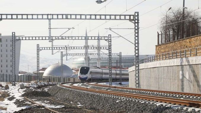 Sivas chamber of commerce and industry arranging high-speed train call
