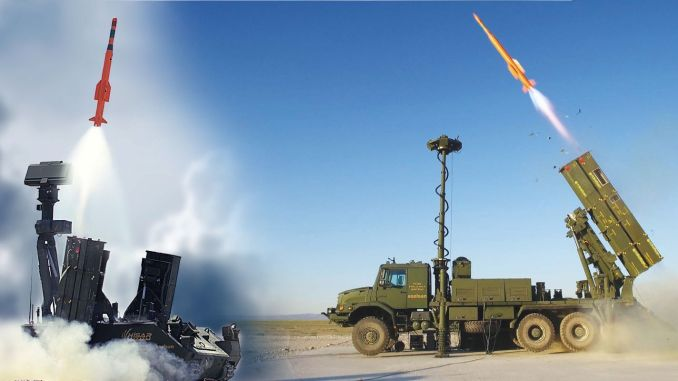 Deliveries begin for sungur and fortress air defense missile systems