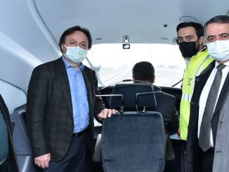 TCDD general manager has joined the suitable konya karaman line test drive