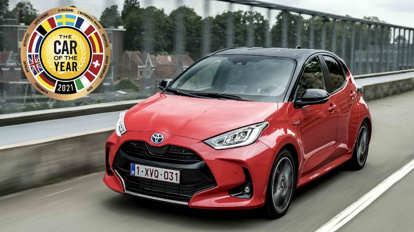 toyota yaris selected car of the year in europe