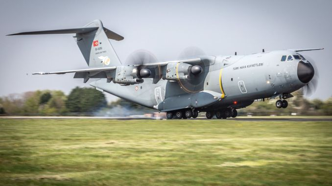 THK will also take delivery of the transport plane