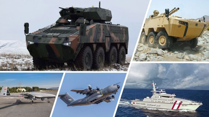 In recent years in the face of increased export weapons turkiyenin