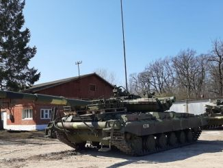 ukraine receives t and t tanks modernized with aselsan radios