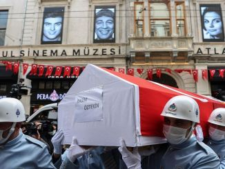Master actor rasim oztekin was put on his last journey