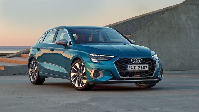 new audi a dazzles with sporty design details