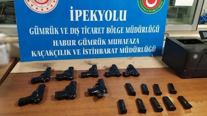 Kacak Weapon Operation at Habur Gumruk Gate