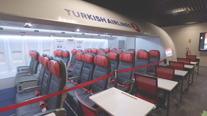 THY Training its Cabin Crew in the Domestic Simulator