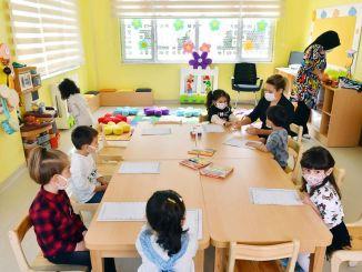 batikent y worker blocks día a día, el centro de cuidado infantil comenzará las capacitaciones después del cierre completo