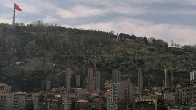 Boztepe viyadugu will be transferred to Ortahisar municipality