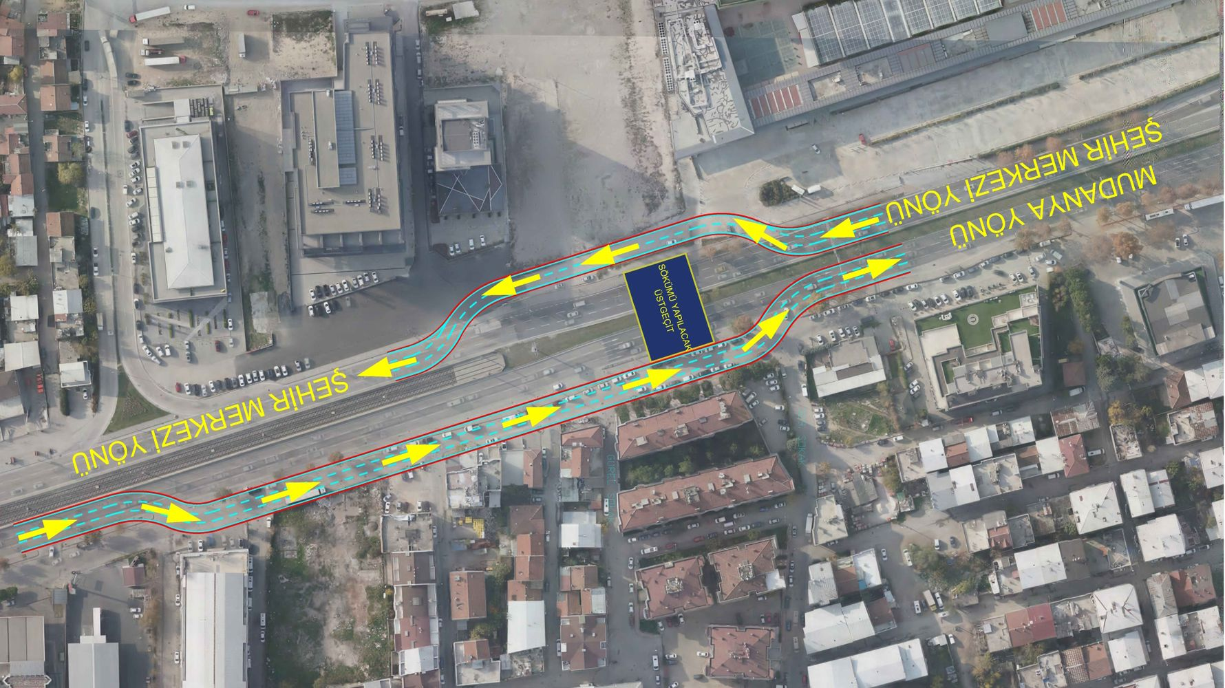 traffic regulation on the road to bursa mudanya
