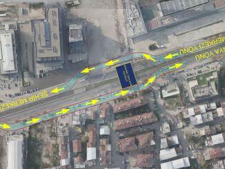 bursa mudanya yolunda trafik duzenlemesi