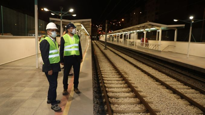 Bursaray signaling system revision second phase works have been completed