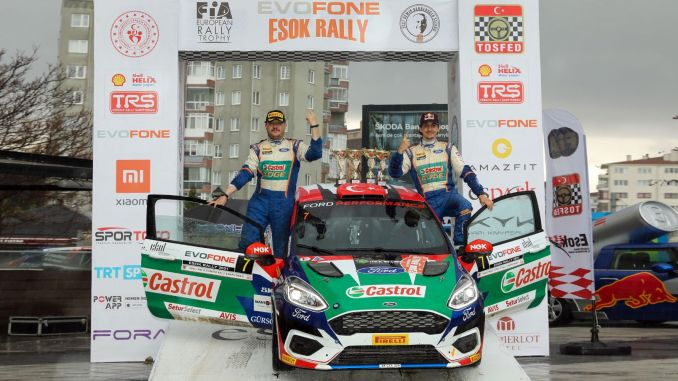 Castrol-Ford team turkey pilots began rapidly to turkey rally championship