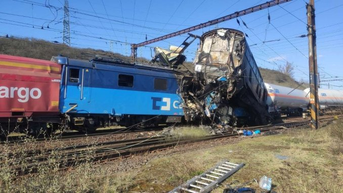 Czech train accident mechanic lost his life