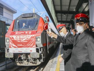 Second train departed for boron exports to Cine