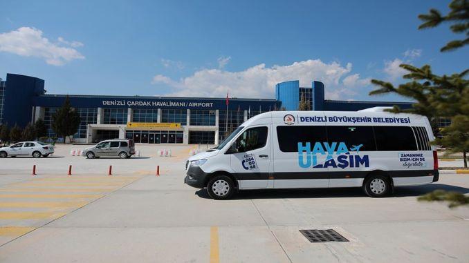 Denizli-Leute waren vom VIP-Transportservice zum Flughafen Cardak begeistert