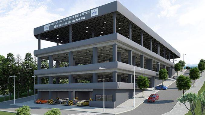 Mehrstöckiger Parkplatz Dilovasi und Ausschreibung für geschlossene Marktplätze im April