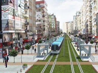 Първият етап от проекта за леки железопътни системи на диарбекир е завършен