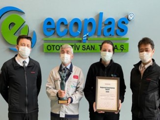 ecoplas was deemed worthy of the European regional contribution by Toyota